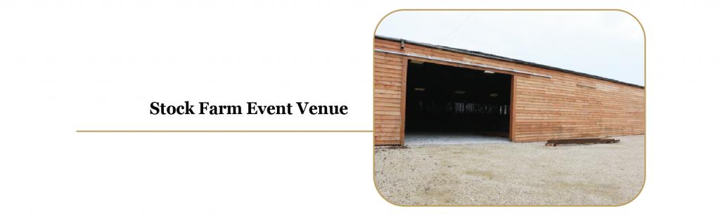 Stock Farm Events Venue & Wedding Barn in North West, Cheshire